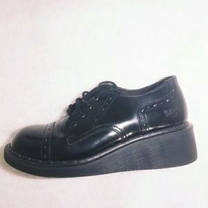 Dr Martens original Oxford Black Shoes Size 7